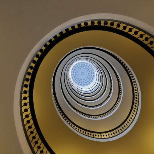 Spiral Staircase VIII - Lotte Gronkjaer