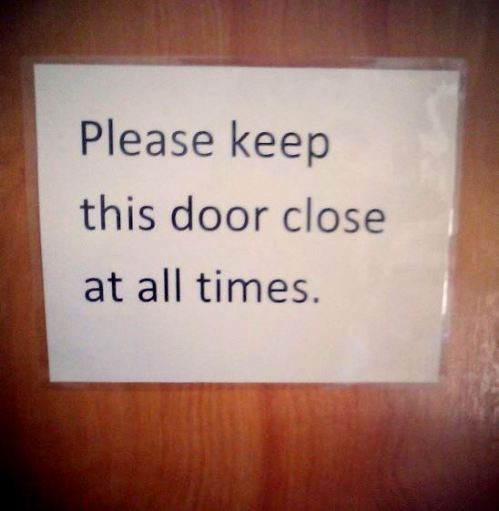 Keep Door Close